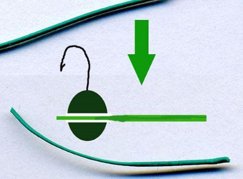 Как привязать вольфрамовою мормышку