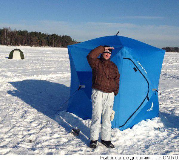 Зимняя палатка типа