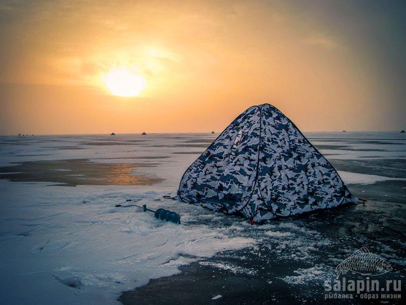 Зимняя палатка-автомат