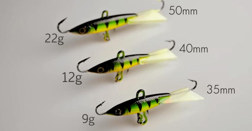 Как подобрать балансир для зимней рыбалки
