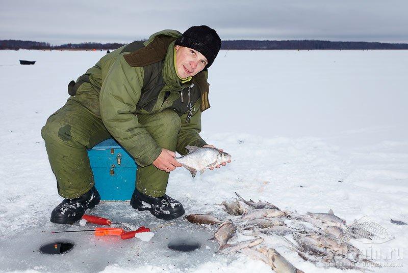 Значительная часть улова поймана на отводной поводок