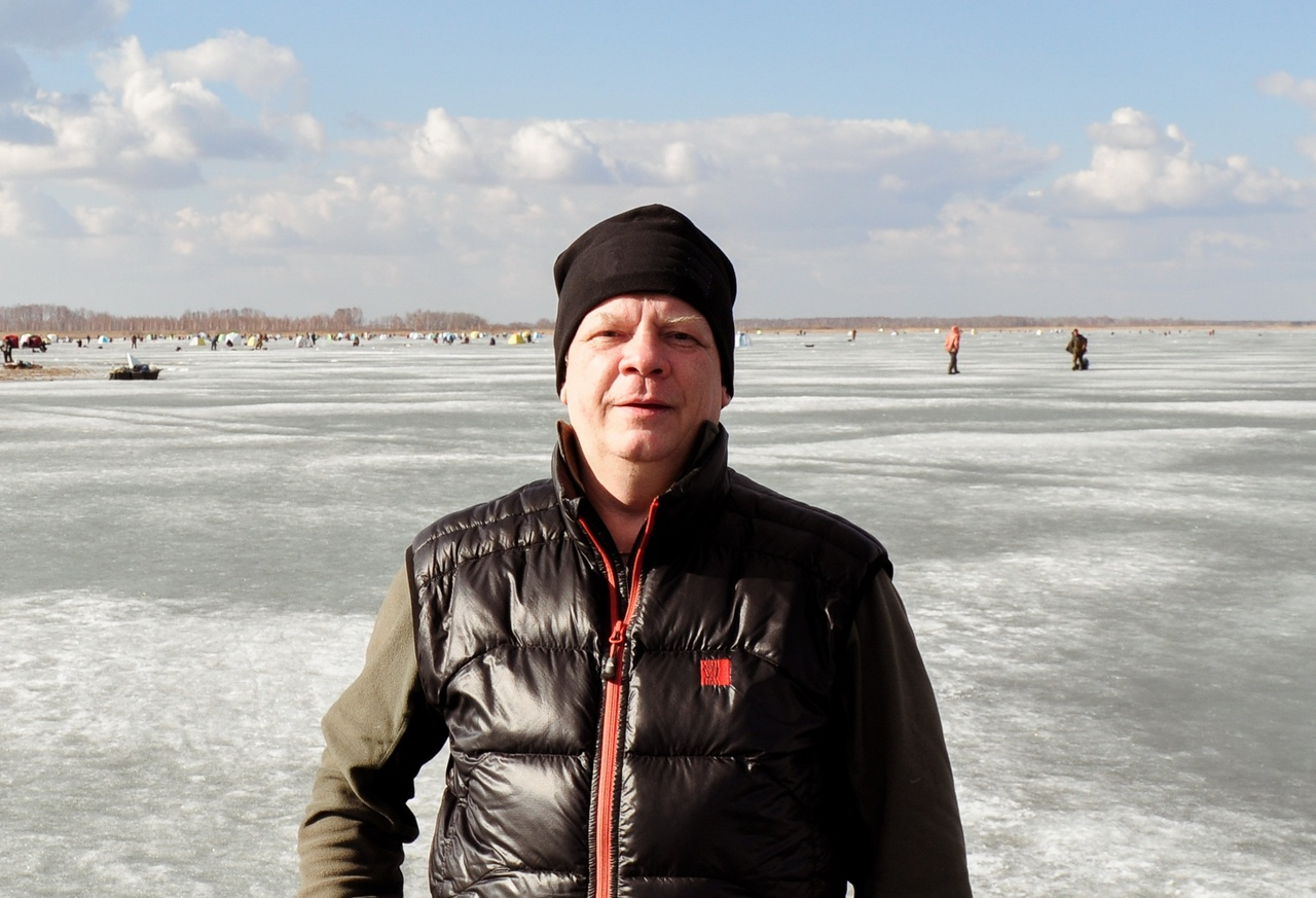 Евгений Замятин Зимняя рыбалка лёд