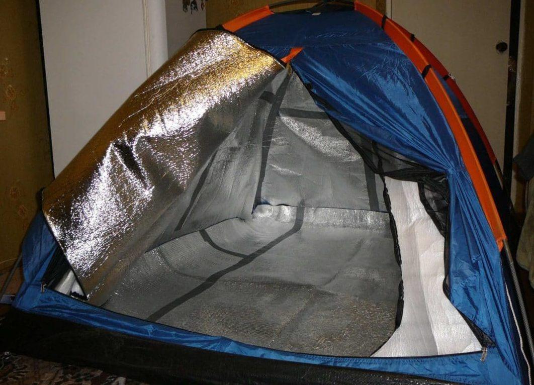 Как утеплить палатку