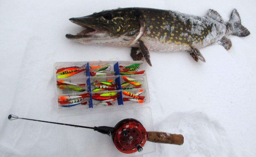 Балансиры для зимней рыбалки на щуку