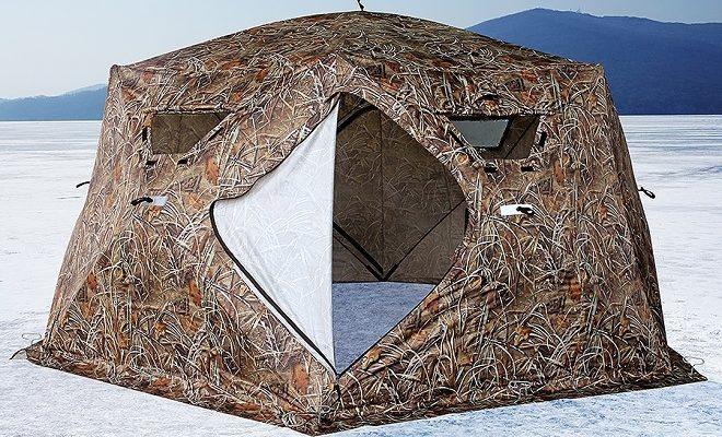 Лучшие зимние палатки для рыбалки