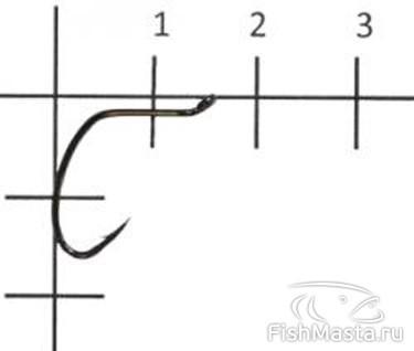 Изображение 1 : Крючки для спиннинговой ловли. Часть 1. Офсетные крючки.