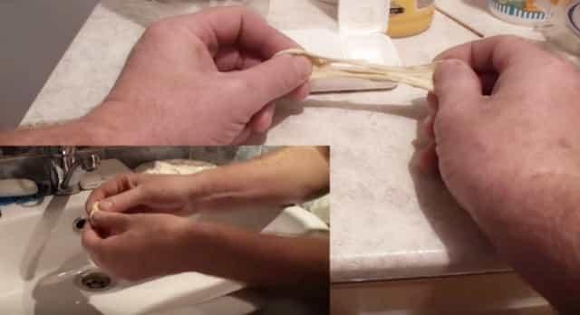 Как приготовить промытое тесто для рыбалки