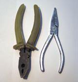 плоскогубцы и кусачики - инструменты для утяжеления блесны