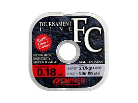 Леска Owner Tournament FC 50м 0,140мм