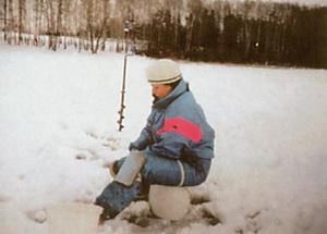 Ловля из подо льда очень увлекателна
