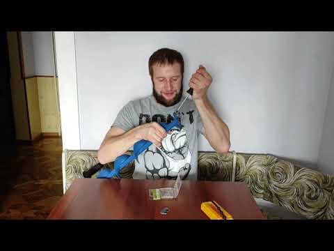 Правильная установка ножей на ледобур Nero Sport 110mm.❄