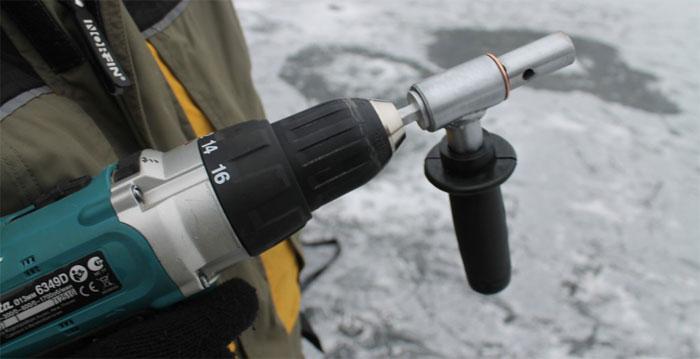 адаптер для ледобура аш-400