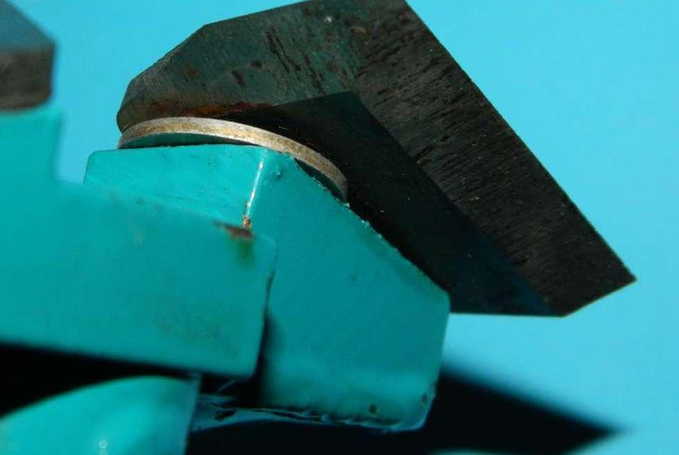 Регулировка ножей для ледобура