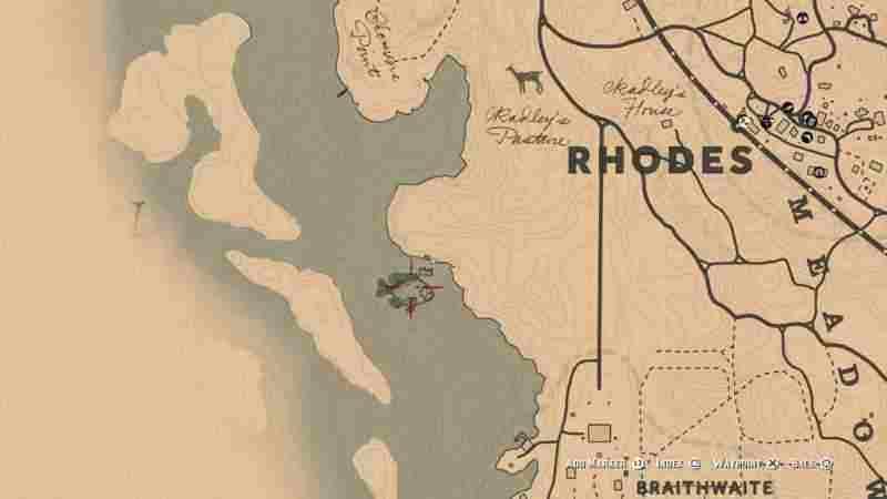 RDR2 - Расположение всех легендарных рыб в игре