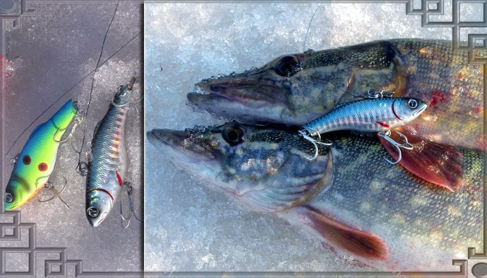 Ратлины для зимней рыбалки на щуку