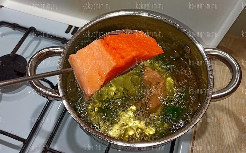 Фото 9 как варить форель