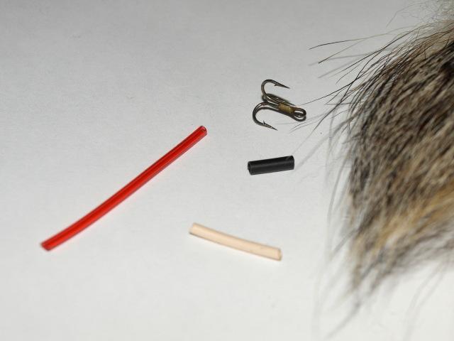 Материалы для изготовления мушки