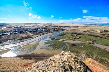Река Кача фото