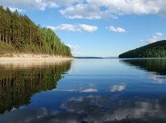 Красноярское водохранилище (Красноярский край, Республика Хакасия)