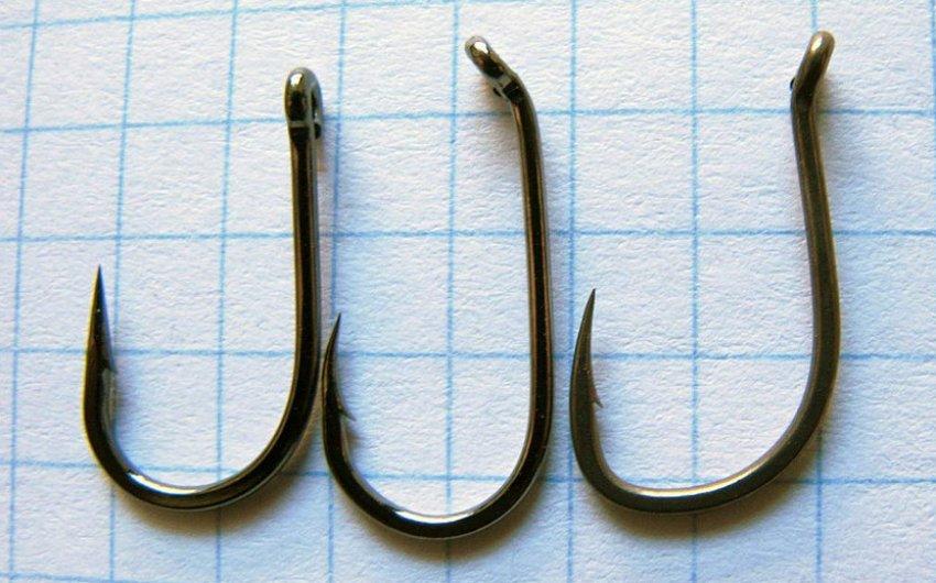 Разные крючки по форме