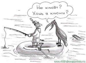 Не клюет на рыбалке