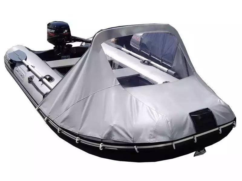 Козырек на надувную лодку